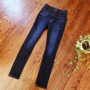 Refuge High Waisted Skinny Jeans